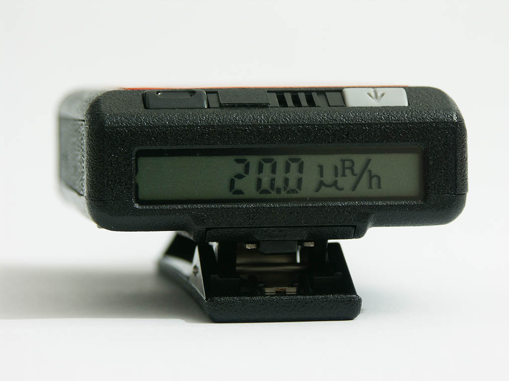 SAIC PD-10i gamma dosimeter in dose rate display mode